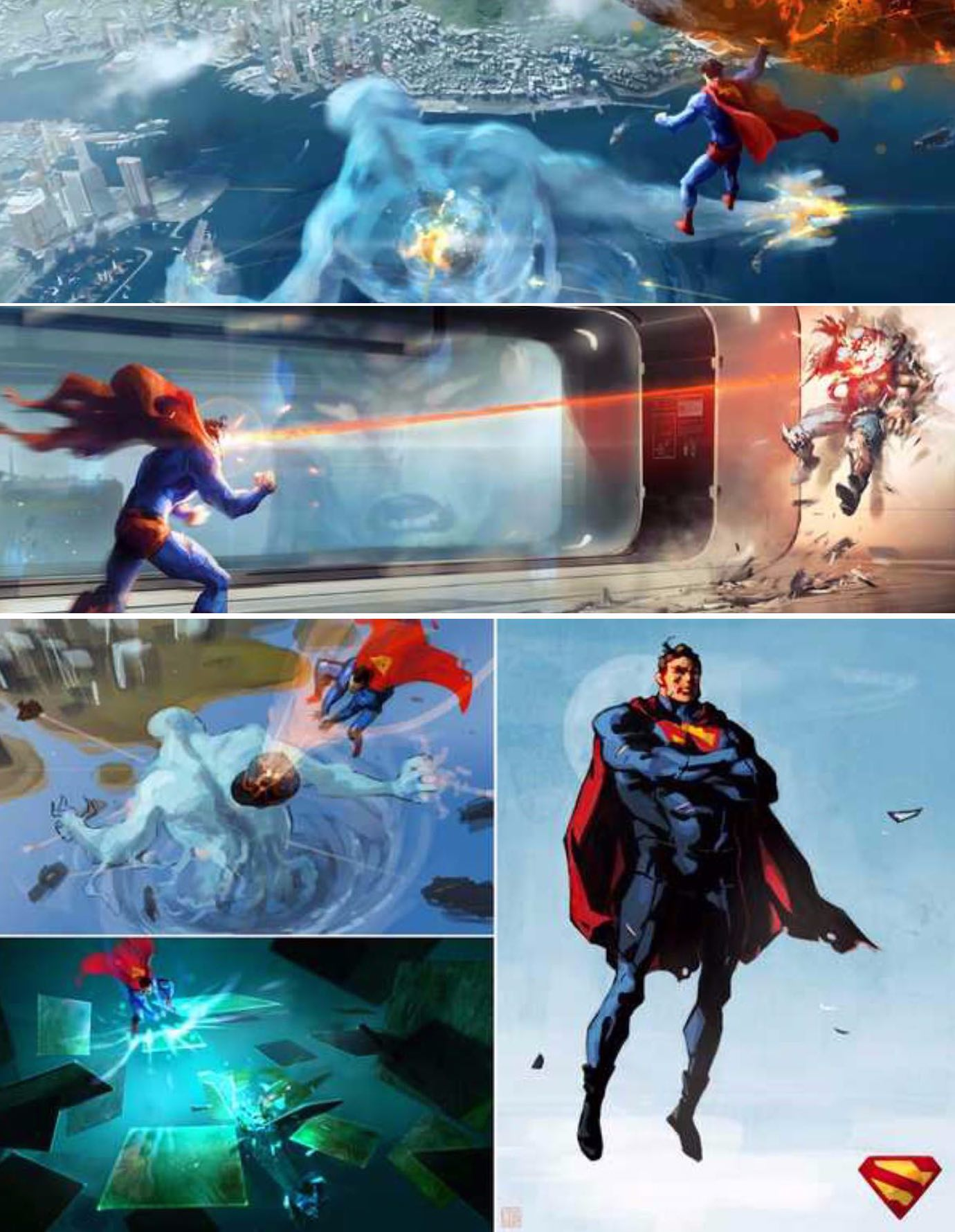 Canned Superman Game